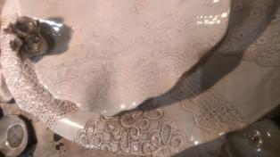 embossed ceramics, ABC home