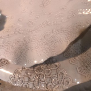 embossed ceramics, ABC home