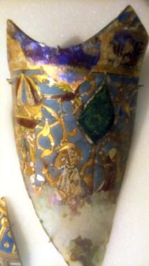 glass fragment V&A