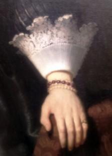 Lace detail, Metropolitan Museum