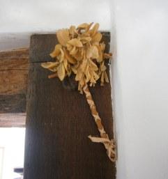 Handmade Palm sunday cross.