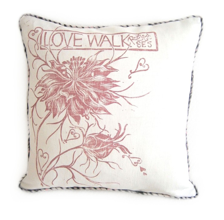 Love Walk cushion