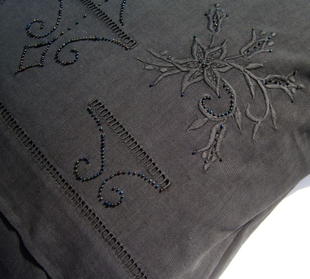 Victoriana Cushion. detail