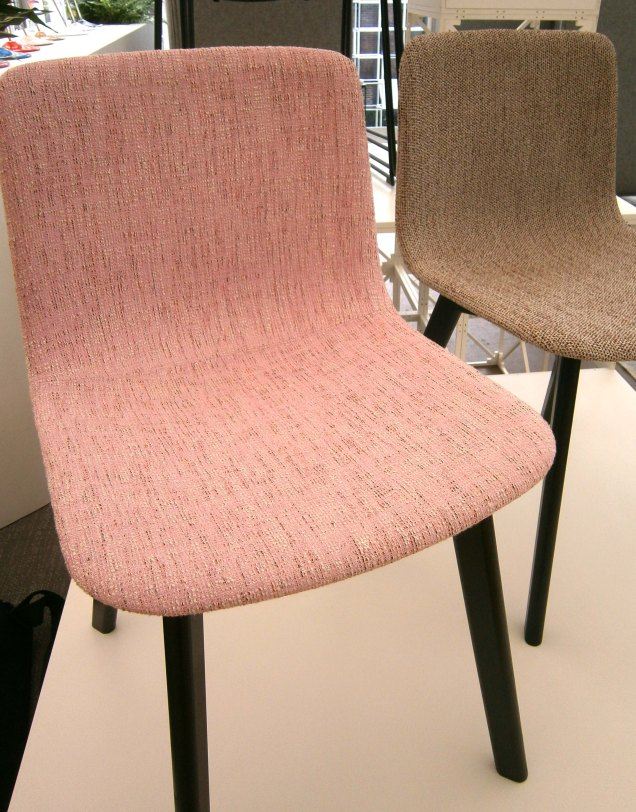 Icons of Denmark pink upholstered chair