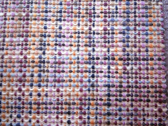 Harlequin fabrics, Celestino pink tweed fabric