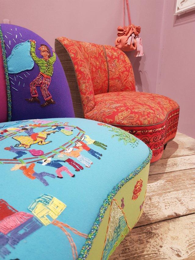 Chairs by Natalie Tredgett
